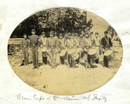 Drum Corps, 8th Maine Vol. Infantry (McArthur Family Papers)